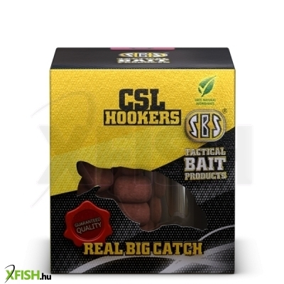 SBS CSL hookers horog csali Fish & Liver 150 gm 16 mm
