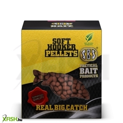 SBS puha horog pellet Bio Big Fish 100 gm 6, 8 mm